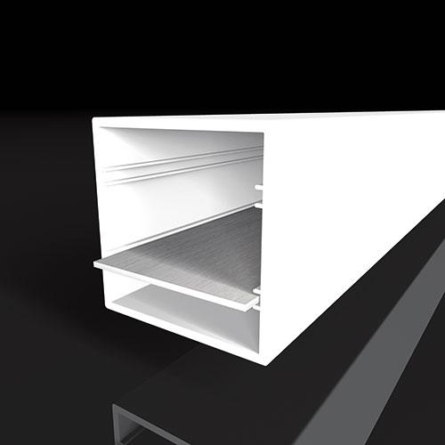 Zubehörprofile für die Beleuchtungstechnik von moreplast