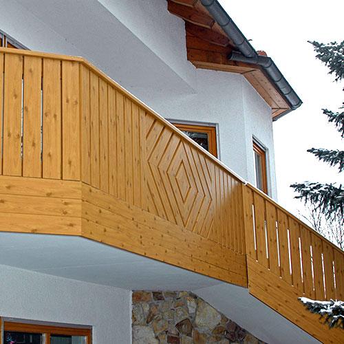 Balkon Raute von Moreplast